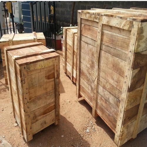 Industrial Wooden Packaging Boxes in Hyderabad, Telangana