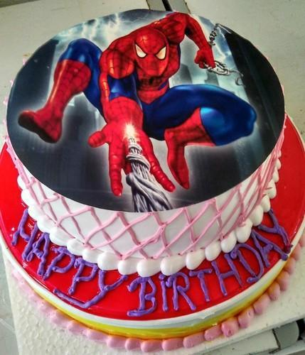 Double Decker Spider Man Cake Rs 1299 Kilogram