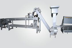 Cashew Inspection Conveyor with Metal Detector