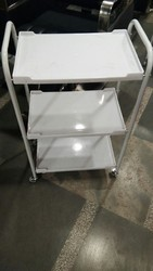 Round Pipe 3 Tray Trolley