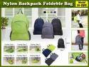 Nylon Blue Back Pack, Size: Regular