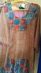 Brown Punjabi Dress