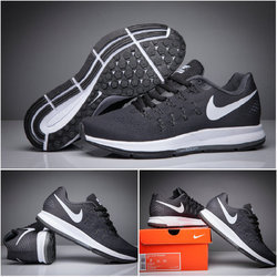 cheap for discount 21b12 2bd8a Running Shoes - Nike Air Max Mens Black Orange Imported Sport Shoes  Retailer from Surat