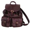 Leather Back Packs