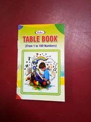 School Table Book