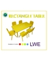 Activity Rectangle Kids Table