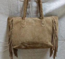 Fringe  Large Tote Bag