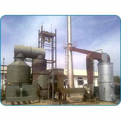 Vertical Four Pass Wood Thermic Fluid Heater