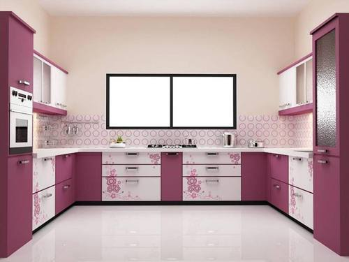 Modular Kitchen C Shape Modular Kitchen Manufacturer