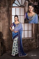 Heavy Blouse Designer Saree