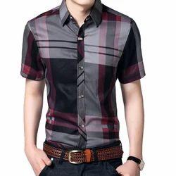 Men's Cotton Casual Shirt, Size: 38.0-42.0