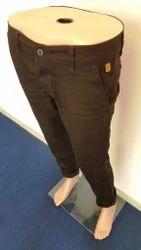Cotton Regular Fit Trouser, Size: 34