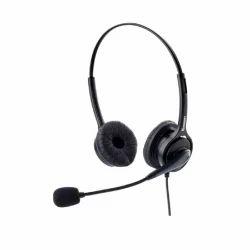 Black Dasscom DS-577 RJ Headsets