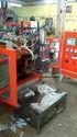 Plastic Blow Molding Machines Pneumatic Twin Cavity