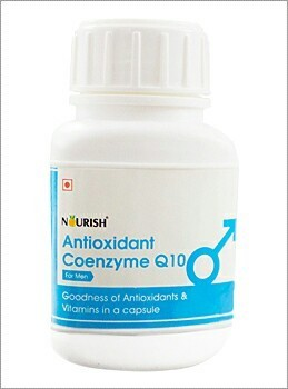 Nourish Antioxidants Coenzyme Q10, Packaging Type: Boxes