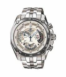 Silver Casio Edifice EF-550d-1AV Watch, For Personal Use