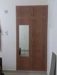 Sintex Brown Bedroom Pvc Wardrobe