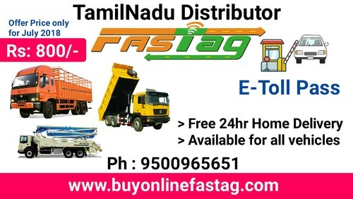 Fastag Electronic Toll Collecting System At Rs 800 No