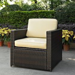 Wicker Deck Chair