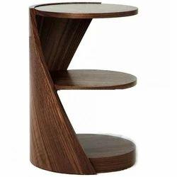 Nautical Rosewood Round Shelf/Rosewood Shelf