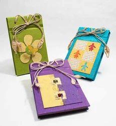 handmade paper album haath se bana kagaj ka photo album surya