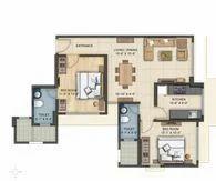 2bhk Flat Design