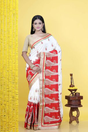 ddf6b35a95ae0 Pure Chiffon Party Wear Chiffon Saree
