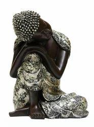 Silver Buddha Idol