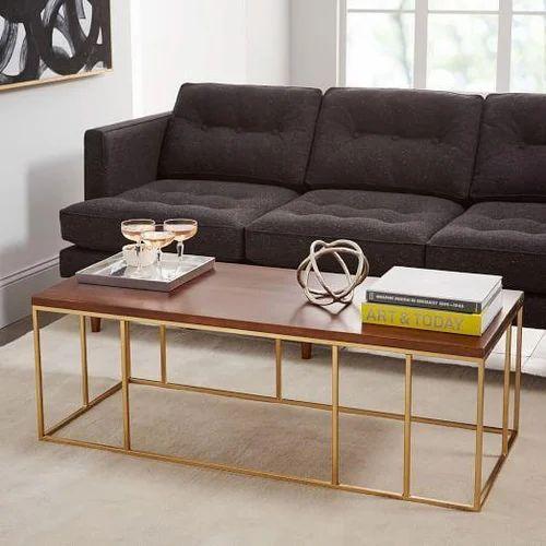 Brass sofa