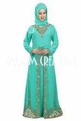 Dubai Kaftan Maghribi Takchita Dress