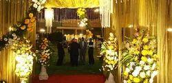 Reception Party Flower Decoration Service