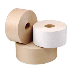 White, Brown 45-2650 M Paper Gum Tape, For Binding