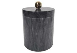 Black Marble Ice Bucket