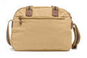 3 Compartment Plain Canvas Sling Bag
