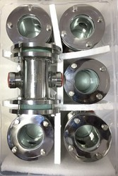 Duplex Steel Sight Flow Indicator
