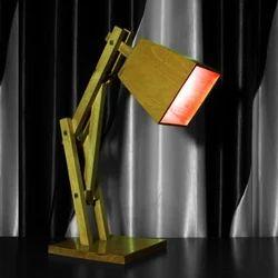 Decor N Utility Crafts Wooden adjustable handmade lamp