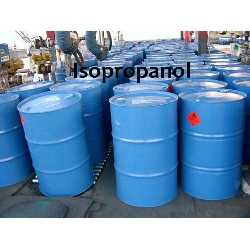 Transparent Isopropanol Solvent, Grade Standard: Industrial Grade