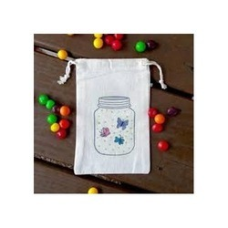 Cotton Small Pouch