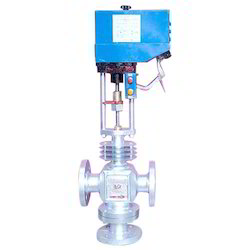 Thermic Fluid Motorized Controls Valve