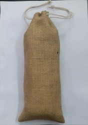 Jute Bottle pouch Bag