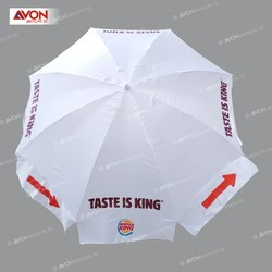 White Color Outdoor Umbrella