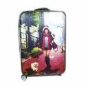 Printed Suitcase Bag