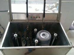 Jar Brushing Machine