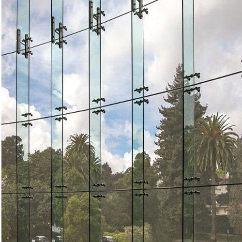 Glass Curtain Wall Fin At Rs 500 /square Feet