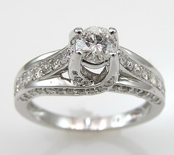 14kt White Gold Diamond Rings