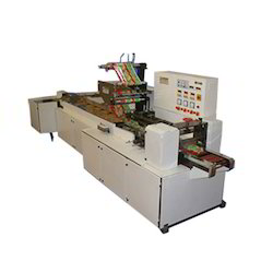 On Edge 'L' Conveyor Flow Wrap Biscuit Machine