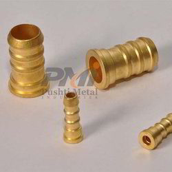 Brass Polished Hose Nipple