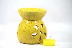 Yellow Aroma Oil Burner