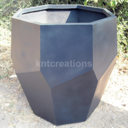 Royal Hexagonal Bronze Planter