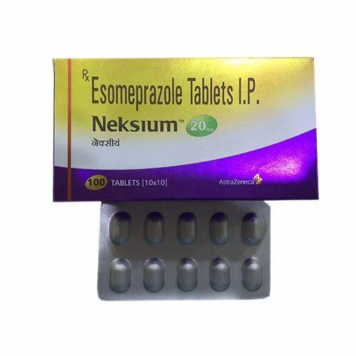 neksium 20mg tablets at rs 100 pack ram nagar nagpur id